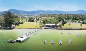 Helicam  Ao Chalong Yacht Club 2011